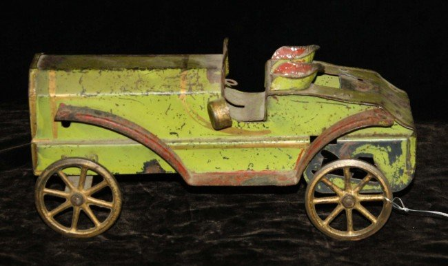 4: 11 inch tin and cast iron roadster