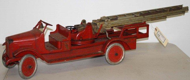 16: Buddy L 29 inch Arial ladder fire truck