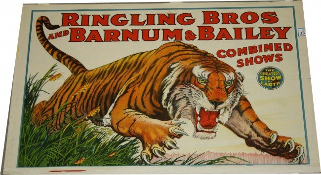 23: Ringling Bros and  Barnum and Bailey Circus poster