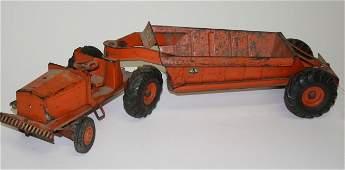 168: Charles Doepke Model Toys Euclid earth hauler