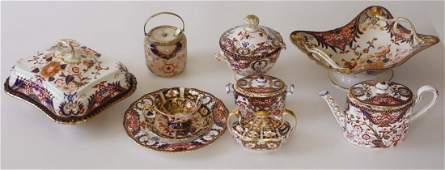 151 assembled pieces of Royal Crown Derby Imari china 1