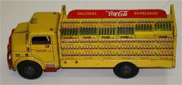 Lumar Marx pressed steel Coca Cola delivery truck