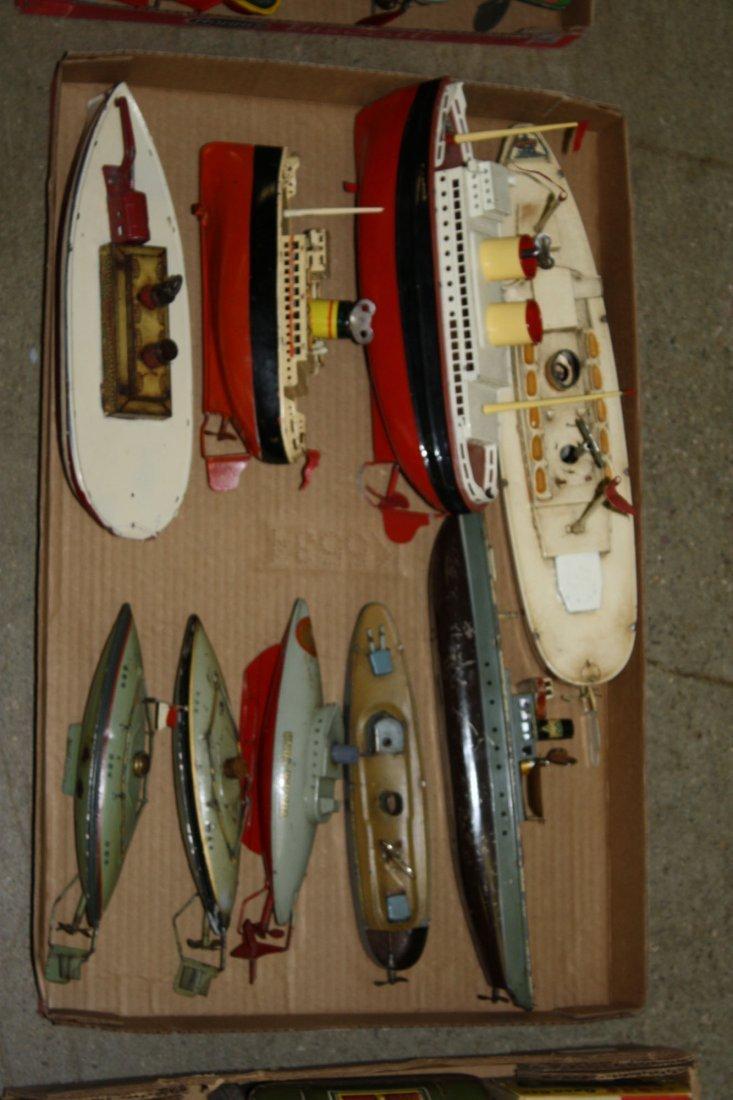 9 keywind boats & submarines