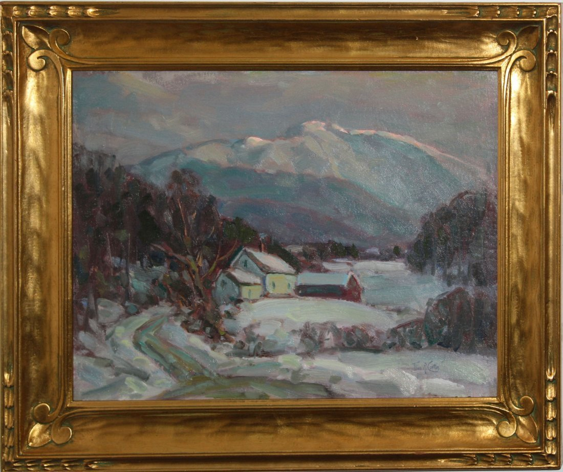 Thomas R Curtin (VT 1899-1977) Mount Mansfield in