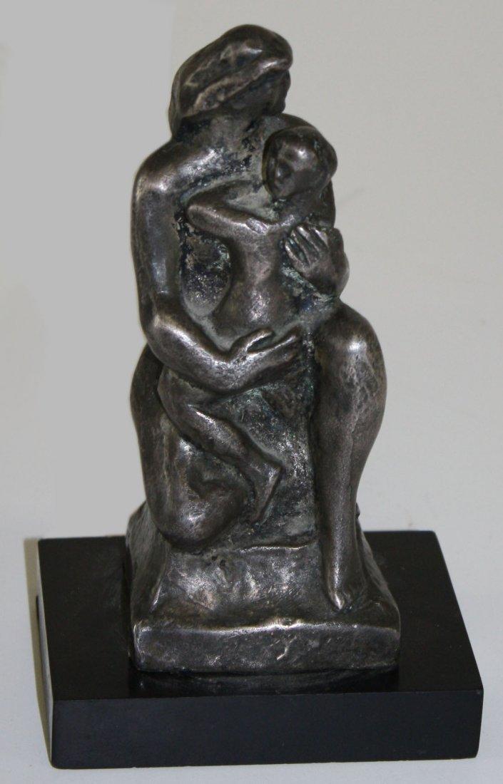 """William Zorach (American 1867-1966) """"Mother & Child"""""""