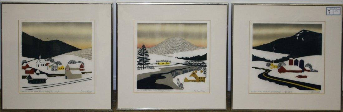 Sabra Field (VT 1935-) Winter in the White River Valley
