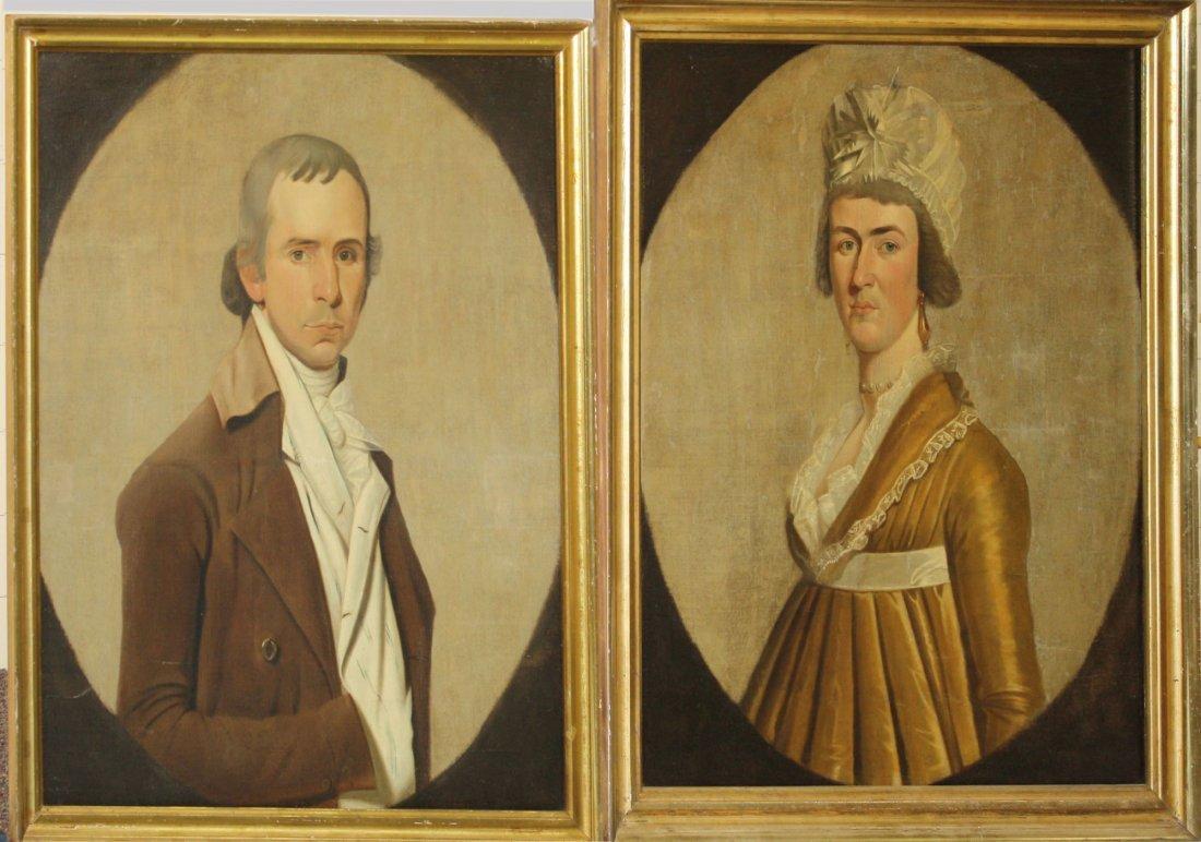 William Jennys (Am 1752-1828) Pair of circa 1790