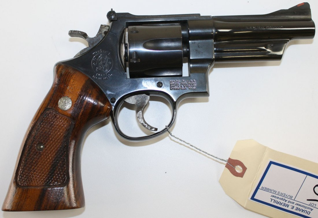Smith and Wesson Model 27-3 Revolver in 357 mag 3""