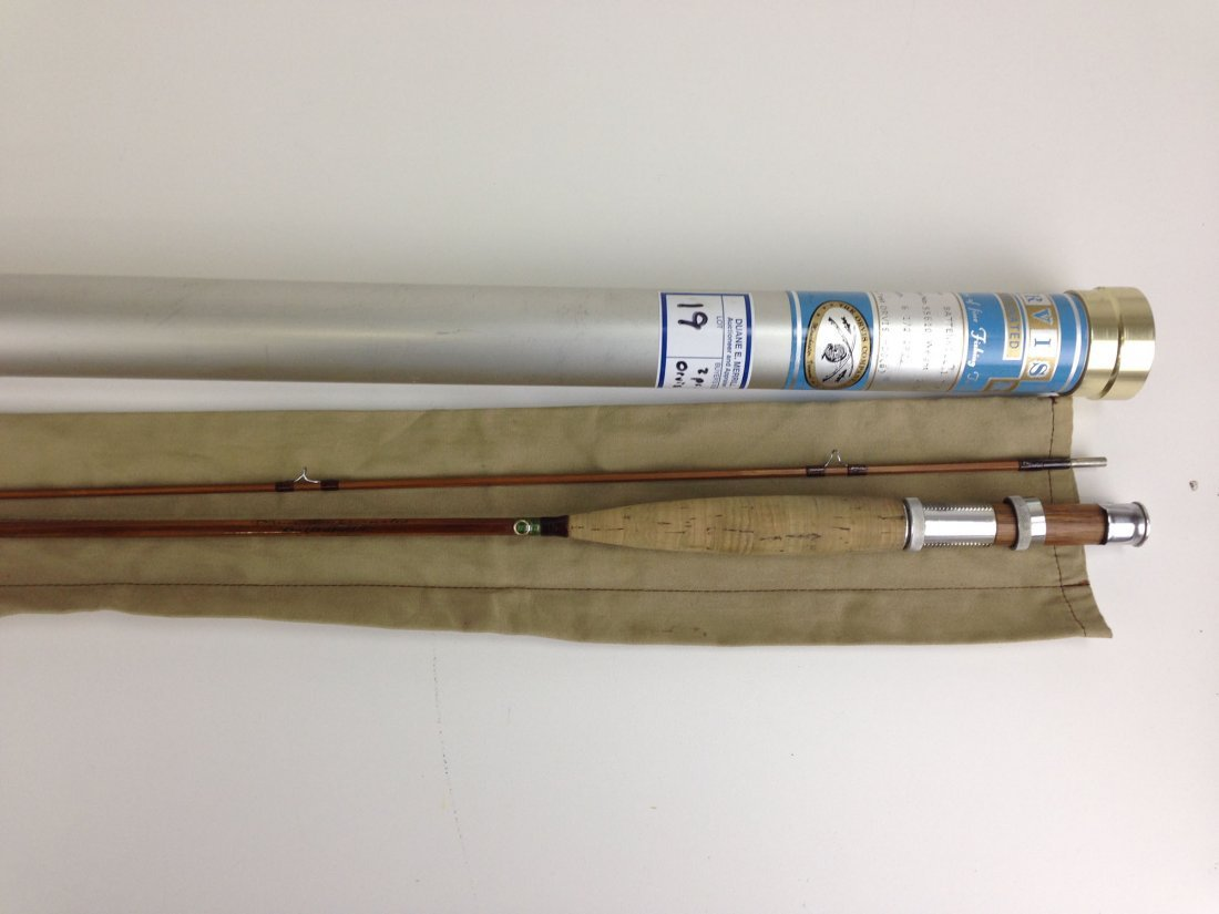 "Orvis ""Battenkill"" 2 pc. 6 1/2' bamboo flyrod in - 2"