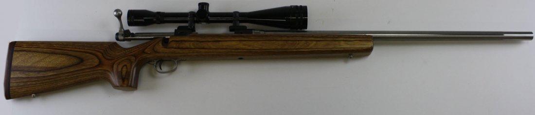Savage Model 112 target rifle in .223 Rem custom stock,