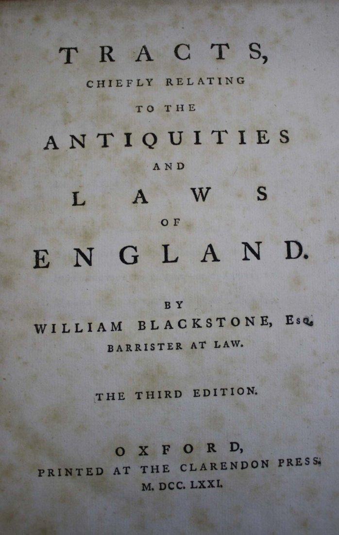 William Blackstone Esq.-Blackstone's Commentary on the - 3