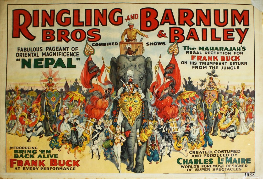 Ringling Bros and Barnum & Bailey Combined Show /