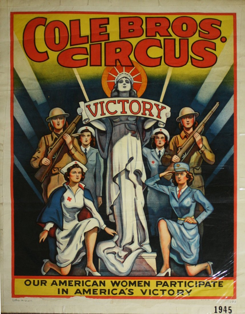 Cole Bros Circus / Victory - Our American Women