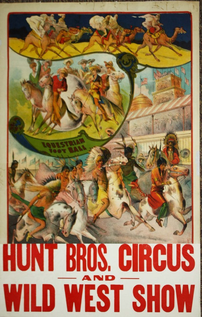 Hunt Bros Circus and Wild West Show / Equestrian