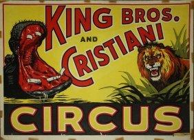 Anonymous Richards Bros Wild Animal Shows Ca 1925 Lot 481b