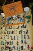 "pre war Lionel ""O"" gauge #550 miniature figures, die"