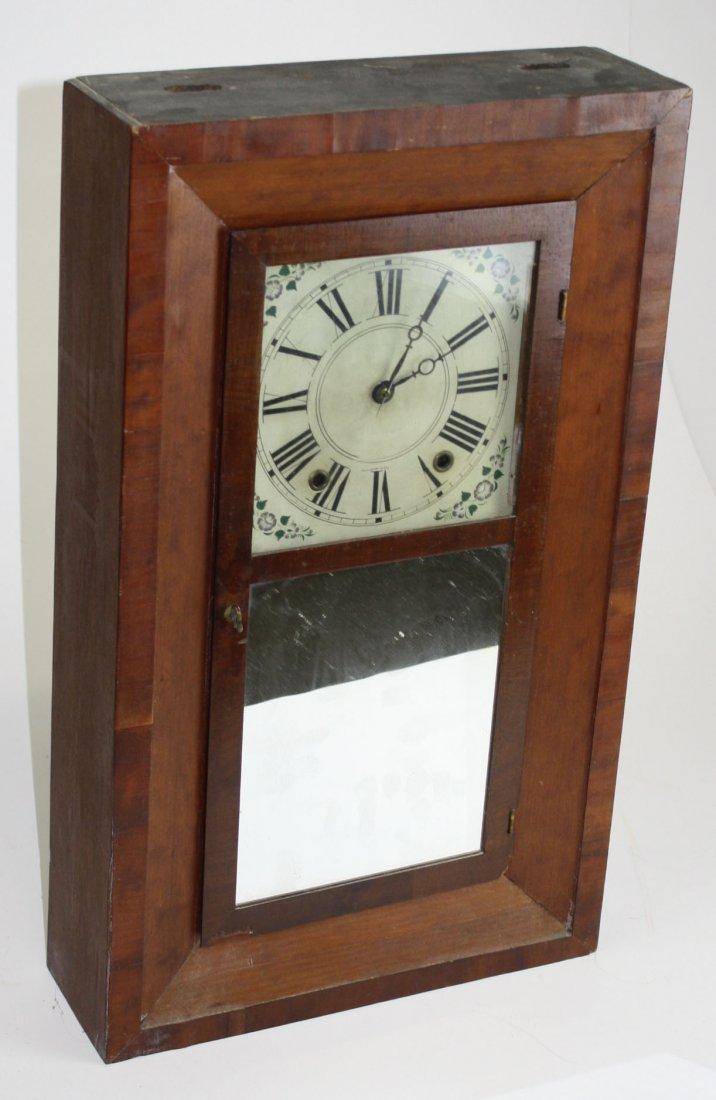 David Dutton Mount Vernon, NH wooden works OG clock-