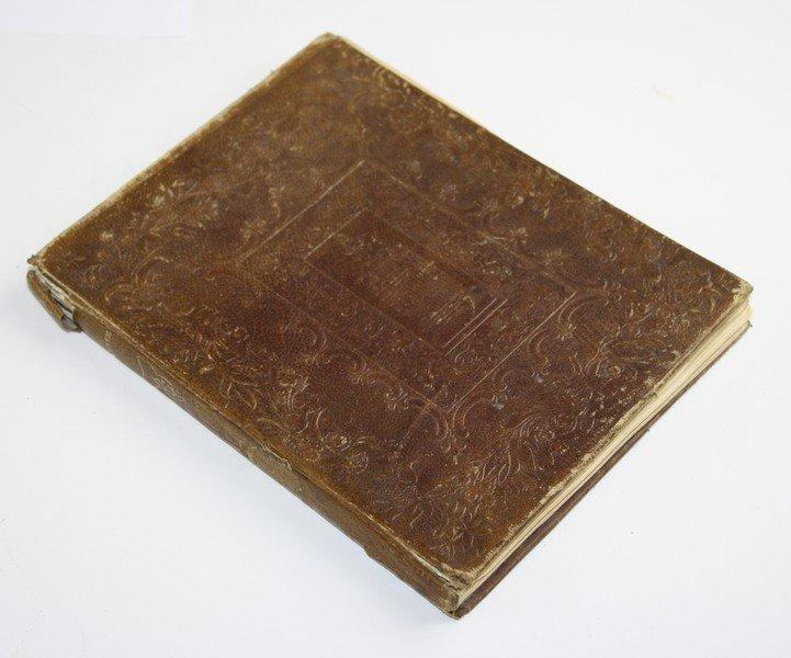 1841 United States 26th Congress autograph album w/