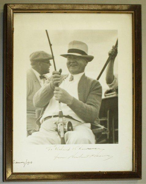 1931-1933 Herbert Hoover inscribed photo to Richard W