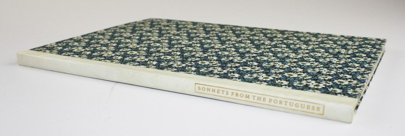"""1925 Elizabeth Barrett Browning """"Sonnets from the"""
