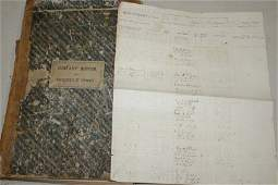 1865 Company Roster and Orderly book for 1st Vt Calvary