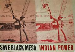 Group of 1970's counter cultural posters including Red