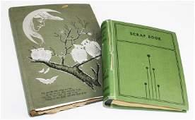 1920's VT scrap book incl. RPPCs, Baseball Photos, WWI