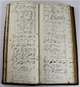 1830 Stowe, VT store account book