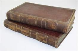 1850, 1851 Waterbury, VT store account books- 2 pcs