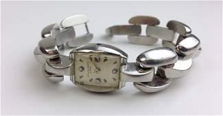 Patek Philippe & CO ladies platinum link bracelet form