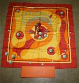 Hermes scarf w original box