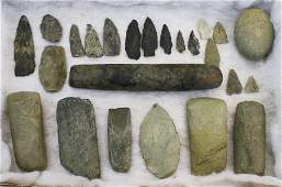 Grand Isle County, Vermont ground stone implements,