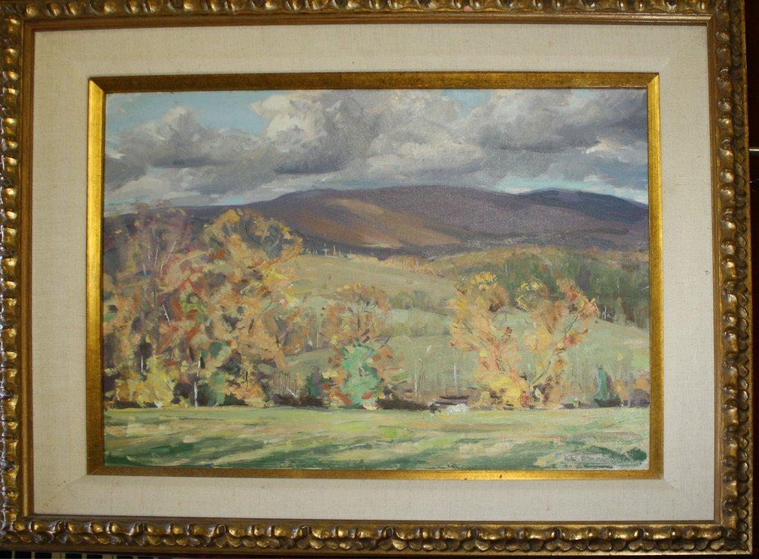Jay Hall Connaway (Vermont/Maine 1893-1970) Autumn