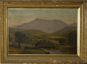 Charles Louis Heyde (vermont 1822-1892) Mount Mansfield