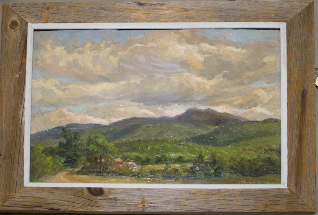 Fred M Hines( Vermont/Maine 20th c ) Mount Mansfield