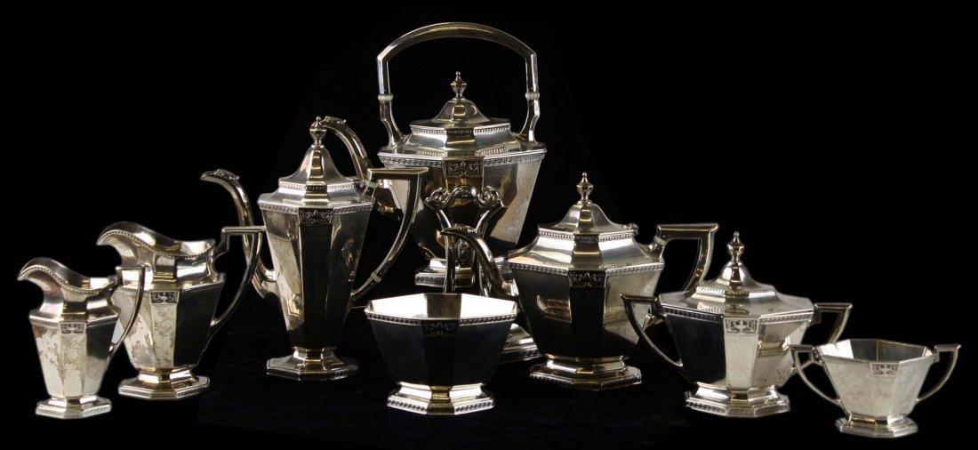 "Gorham ""Lansdowne"" tea and coffee service, including"