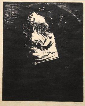Leonard Baskin (american 1922-2000) Jonathan Artist