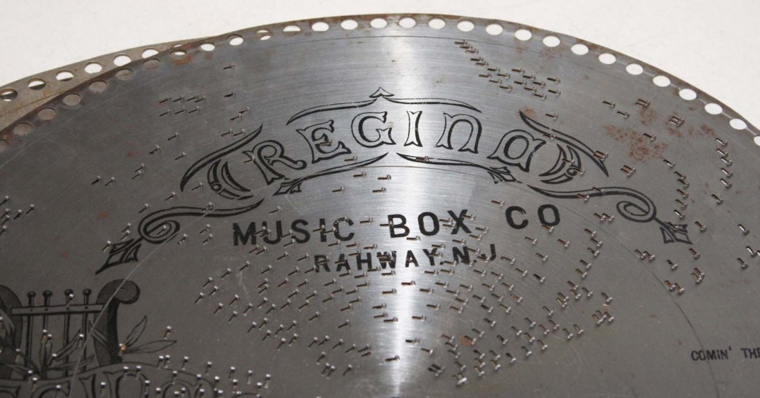 four Regina Musicbox discs- The College Hornpipe, the - 2