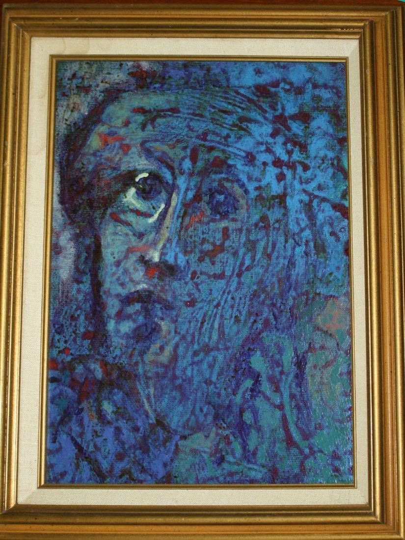 Alfred Milton Duca (American 1920-1997) Blue Woman  -