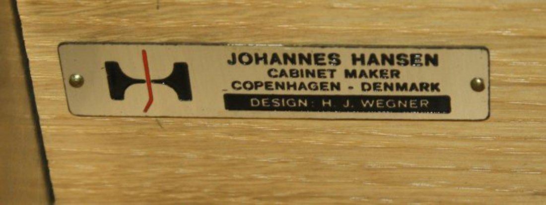 J Wegner for Johannes Hansen- Denmark double pedestal - 2