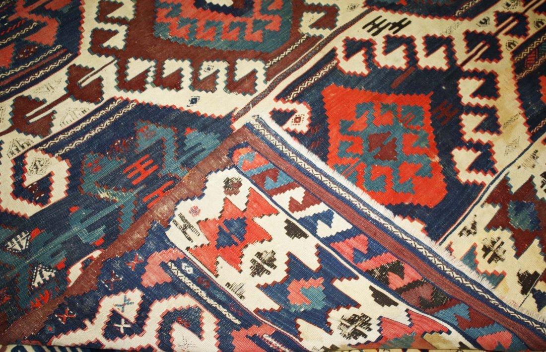 20th c Karakecili  kilim, Marla Mallett cloth label, - 2