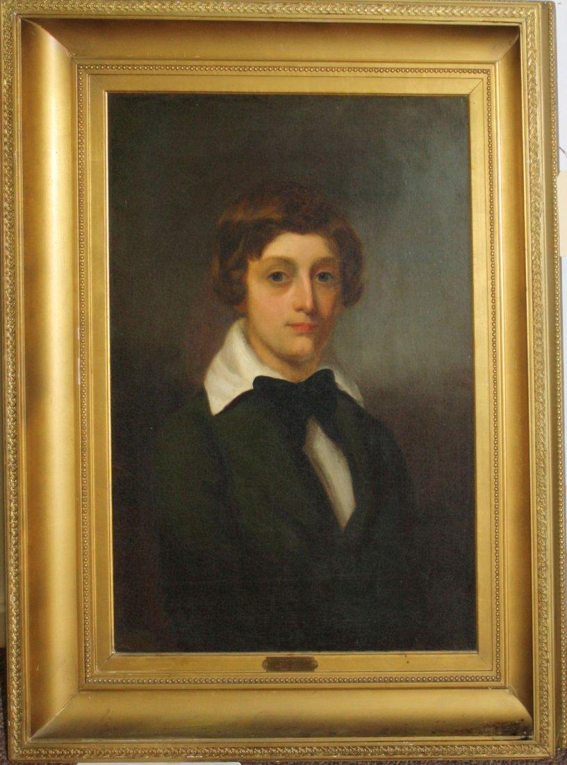 Jane Leavitt Hunt (American 1801-1877) Portrait of