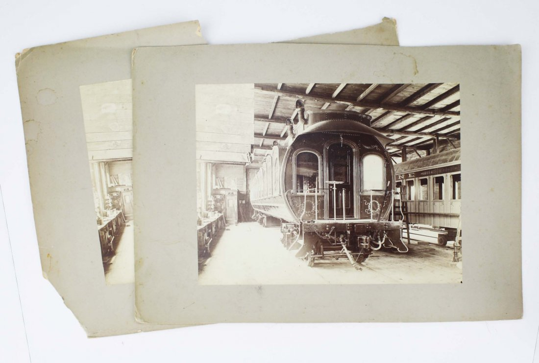 two late 19th c cabinet photos including 2 of Henry