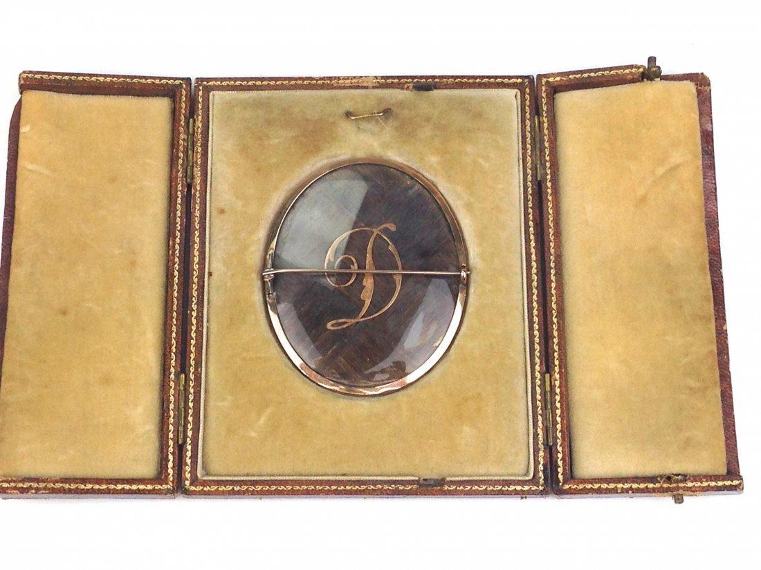 18th c. miniature oil portrait of elderly gentleman in - 2