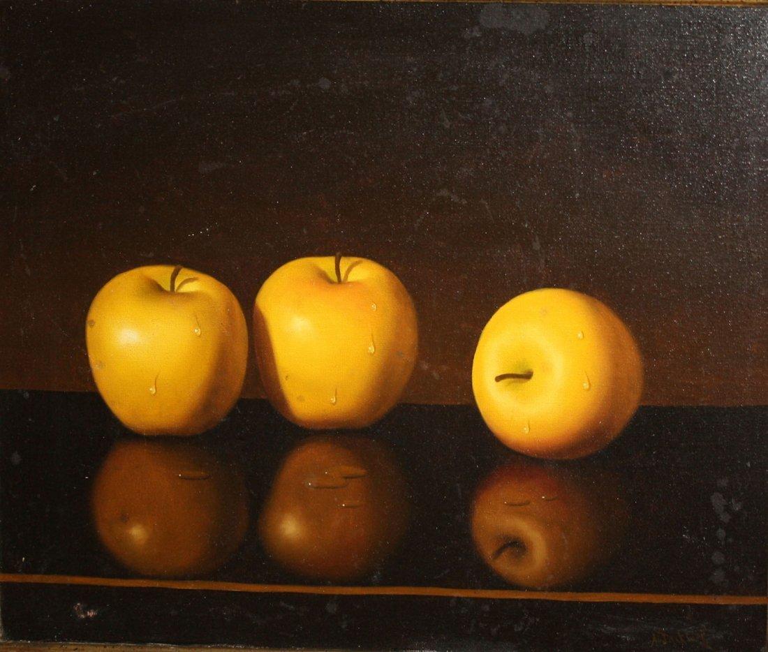 Al Jackson (American 1940-2001) Still Life with Apples