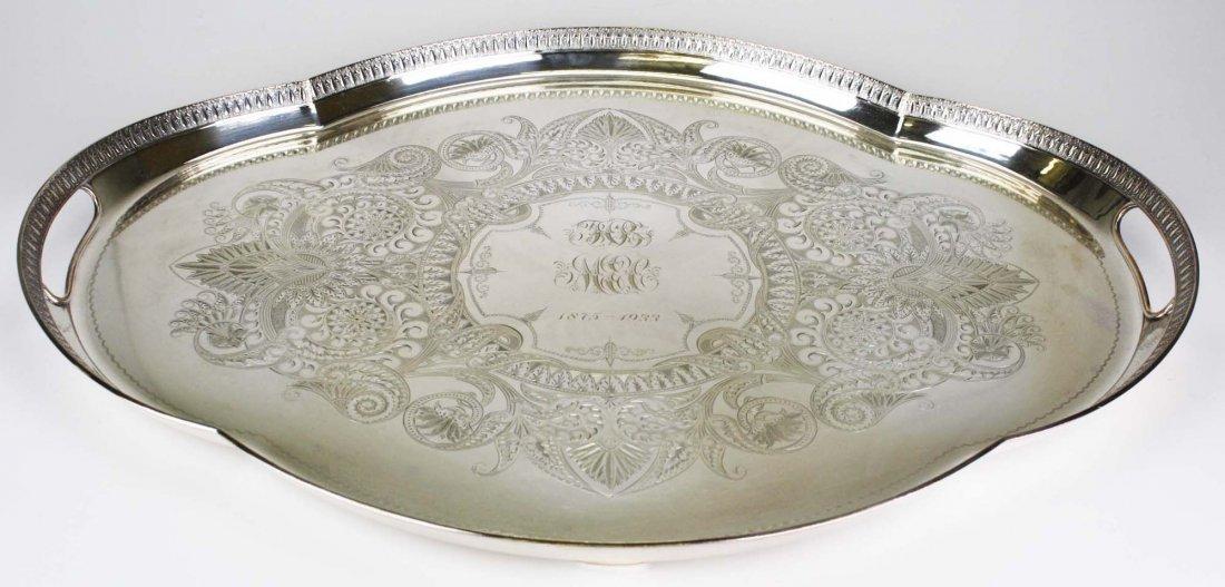 "Elaborate engraved Aesthetic Gorham Mfg. Co 26"""