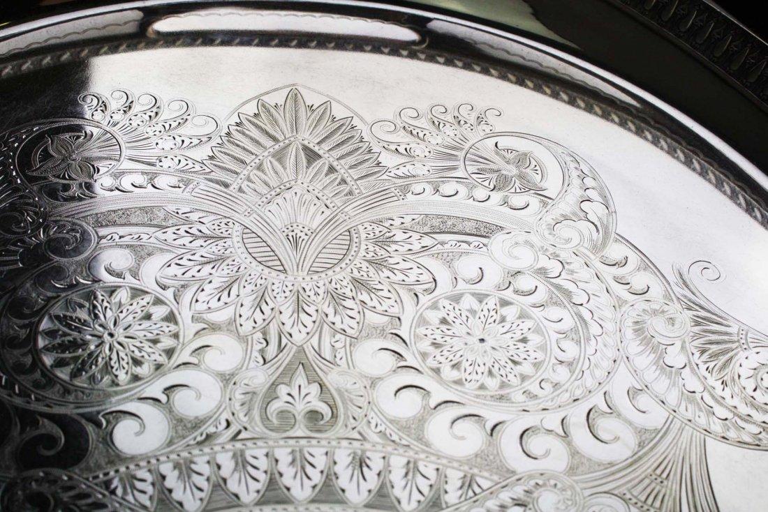 "Elaborate engraved Aesthetic Gorham Mfg. Co 26"" - 5"