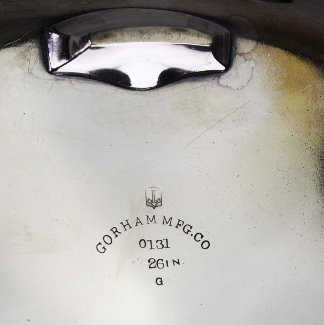 "Elaborate engraved Aesthetic Gorham Mfg. Co 26"" - 7"