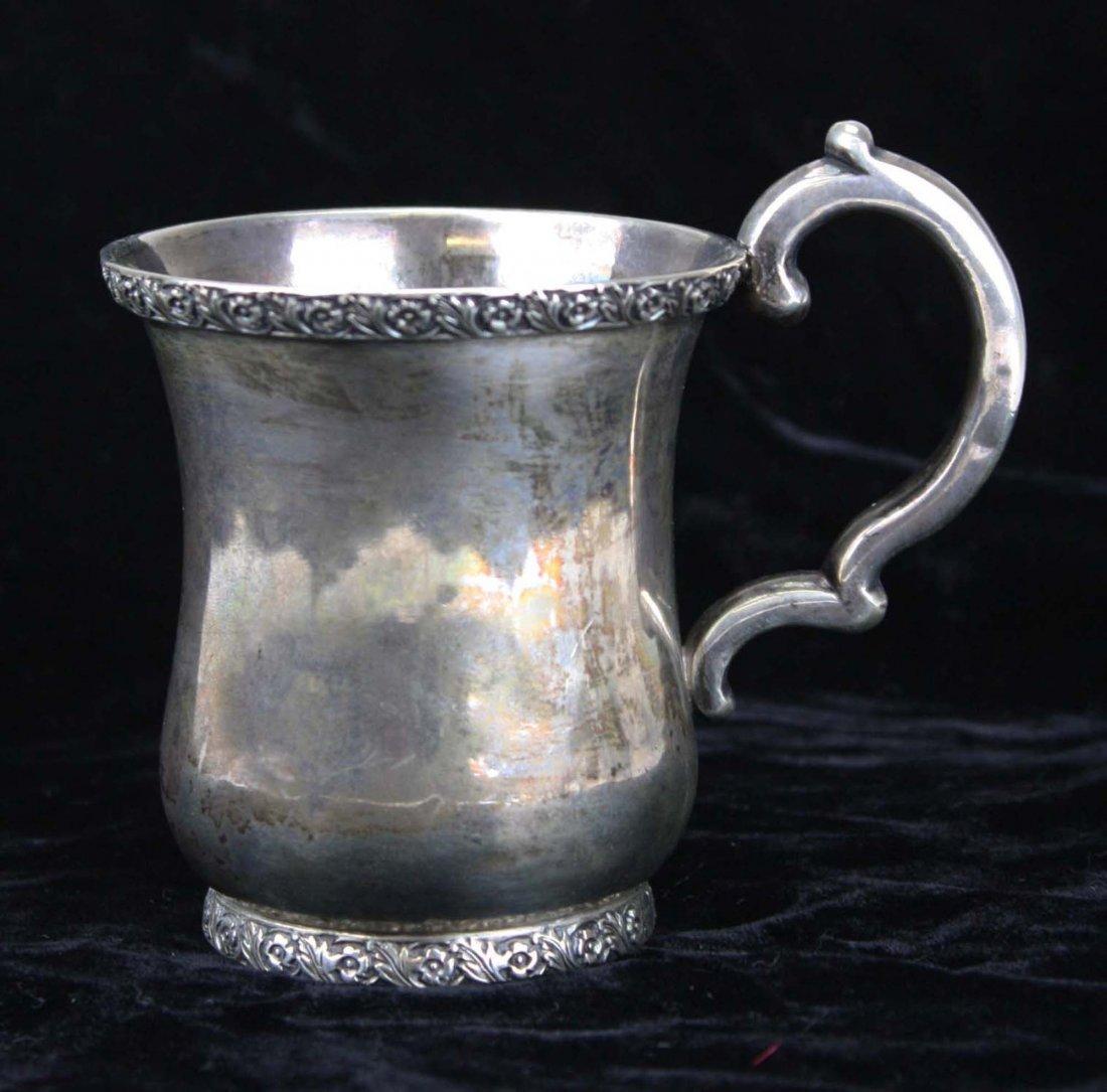 Sterling silver cup by Maltby Kingston Pelletreau