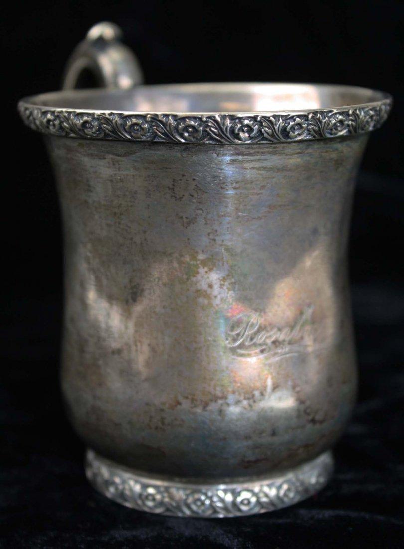 Sterling silver cup by Maltby Kingston Pelletreau - 4